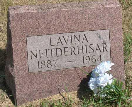 NEITDERHISAR, LAVINA - Linn County, Iowa | LAVINA NEITDERHISAR