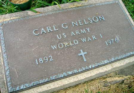 NELSON, CARL G. - Linn County, Iowa | CARL G. NELSON