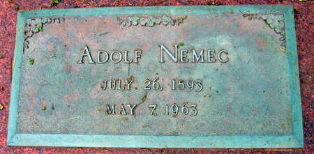 NEMEC, ADOLF - Linn County, Iowa | ADOLF NEMEC