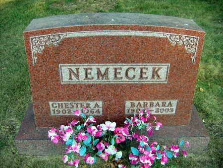 NEMECEK, CHESTER A, - Linn County, Iowa   CHESTER A, NEMECEK