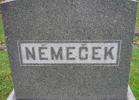NEMECEK, FAMILY STONE - Linn County, Iowa | FAMILY STONE NEMECEK