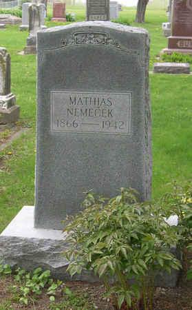NEMECEK, MATHIAS - Linn County, Iowa | MATHIAS NEMECEK