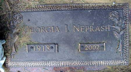 NEPRASH, GEORGIA I. - Linn County, Iowa | GEORGIA I. NEPRASH