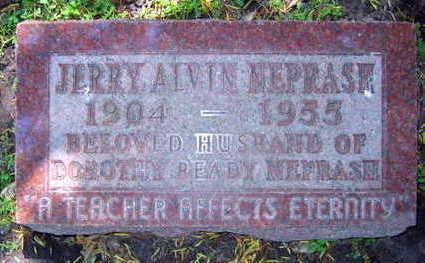 NEPRASH, JERRY ALVIN - Linn County, Iowa | JERRY ALVIN NEPRASH