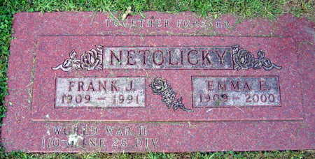 NETOLICKY, EMMA E. - Linn County, Iowa | EMMA E. NETOLICKY