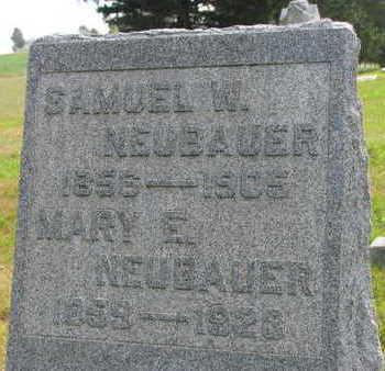 NEUBAUER, MARY E. - Linn County, Iowa | MARY E. NEUBAUER