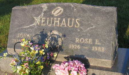 NEUHAUS, ROSE E. - Linn County, Iowa | ROSE E. NEUHAUS