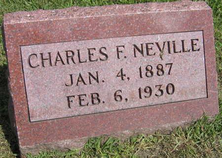 NEVILLE, CHARLES F. - Linn County, Iowa | CHARLES F. NEVILLE