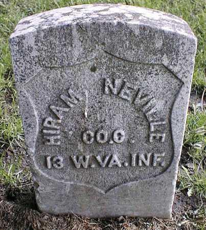 NEVILLE, HIRAM - Linn County, Iowa | HIRAM NEVILLE