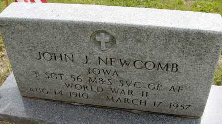 NEWCOMB, JOHN J. - Linn County, Iowa | JOHN J. NEWCOMB