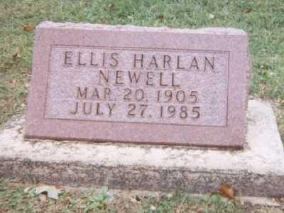 NEWELL, ELLIS HARLAN - Linn County, Iowa | ELLIS HARLAN NEWELL