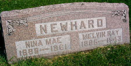 NEWHARD, NINA MAE - Linn County, Iowa | NINA MAE NEWHARD