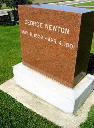 NEWTON, GEORGE - Linn County, Iowa | GEORGE NEWTON