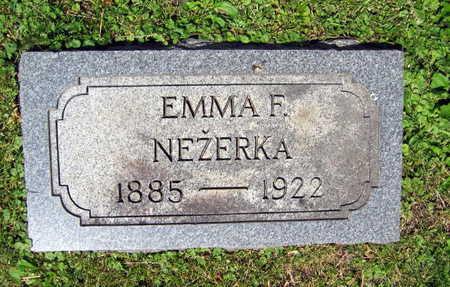 NEZERKA, EMMA F. - Linn County, Iowa | EMMA F. NEZERKA