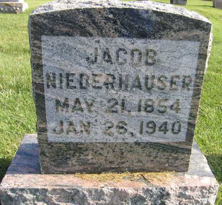 NIEDERHAUSER, JACOB - Linn County, Iowa   JACOB NIEDERHAUSER