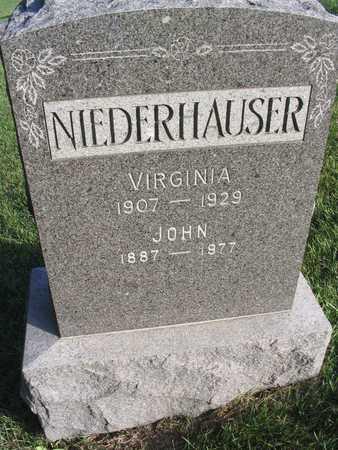 NIEDERHAUSER, VIRGINIA - Linn County, Iowa | VIRGINIA NIEDERHAUSER