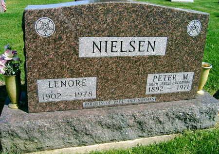 NIELSEN, PETER M. - Linn County, Iowa | PETER M. NIELSEN