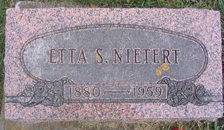 NIETERT, ETTA S. - Linn County, Iowa | ETTA S. NIETERT