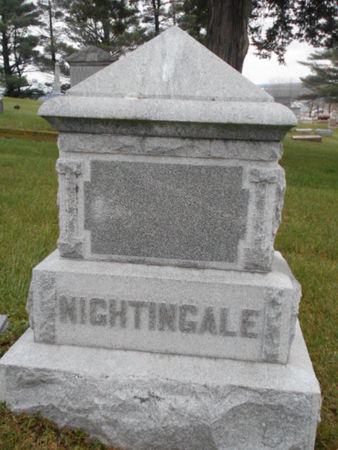 NIGHTINGALE, FAMILY STONE - Linn County, Iowa | FAMILY STONE NIGHTINGALE