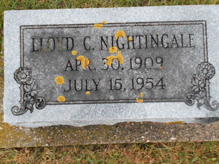 NIGHTINGALE, LLOYD C. - Linn County, Iowa | LLOYD C. NIGHTINGALE