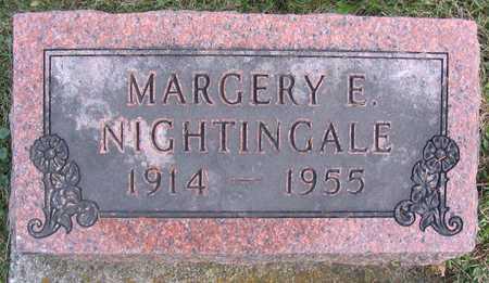 NIGHTINGALE, MARGERY E. - Linn County, Iowa | MARGERY E. NIGHTINGALE