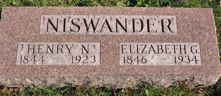 NISWANDER, HENRY N. - Linn County, Iowa | HENRY N. NISWANDER