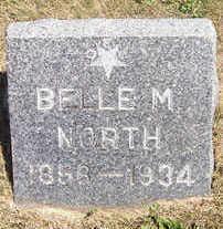NORTH, BELLE M. - Linn County, Iowa | BELLE M. NORTH