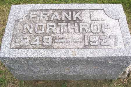 NORTHROP, FRANK - Linn County, Iowa | FRANK NORTHROP