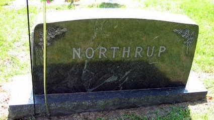 NORTHUP, FAMILY STONE - Linn County, Iowa | FAMILY STONE NORTHUP