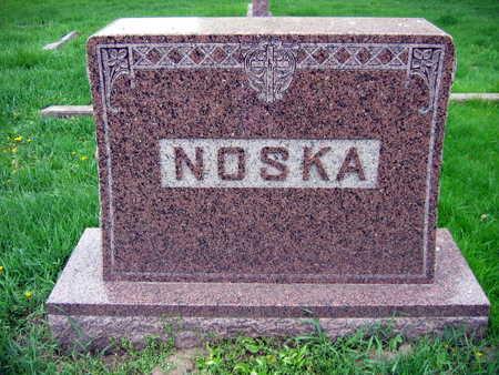 NOSKA, FAMILY STONE - Linn County, Iowa | FAMILY STONE NOSKA