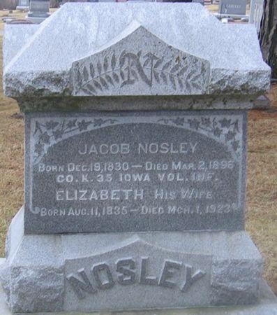 NOSLEY, ELIZABETH - Linn County, Iowa | ELIZABETH NOSLEY