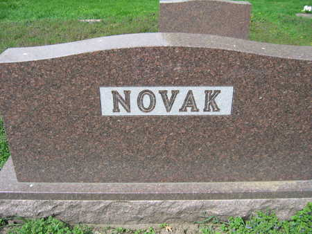 NOVAK, FAMILY STONE - Linn County, Iowa | FAMILY STONE NOVAK