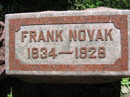 NOVAK, FRANK - Linn County, Iowa | FRANK NOVAK