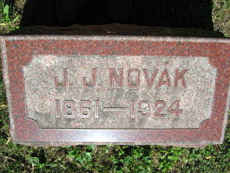 NOVAK, J. J. - Linn County, Iowa | J. J. NOVAK