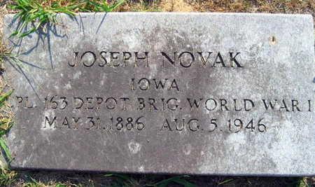 NOVAK, JOSEPH - Linn County, Iowa | JOSEPH NOVAK