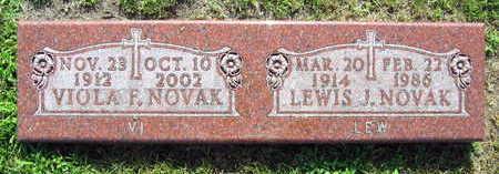 NOVAK, VIOLA F. - Linn County, Iowa   VIOLA F. NOVAK