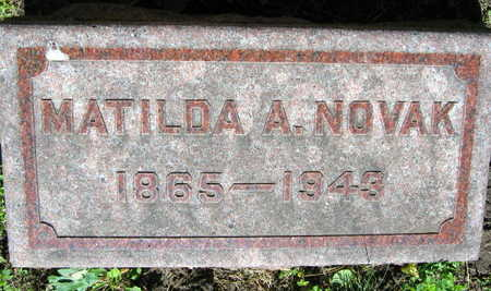 NOVAK, MATILDA A. - Linn County, Iowa | MATILDA A. NOVAK