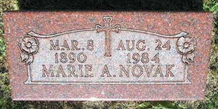 NOVAK, MARIE A. - Linn County, Iowa | MARIE A. NOVAK