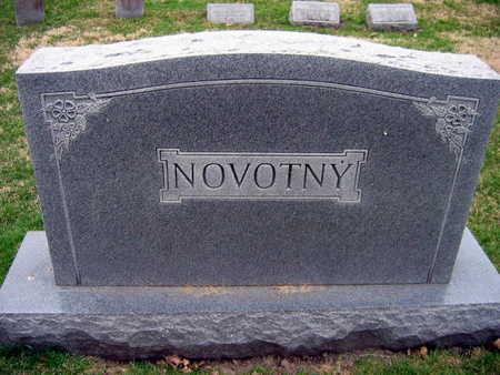 NOVOTNY, FAMILY STONE  (NOVOTNY TEHEL) - Linn County, Iowa | FAMILY STONE  (NOVOTNY TEHEL) NOVOTNY