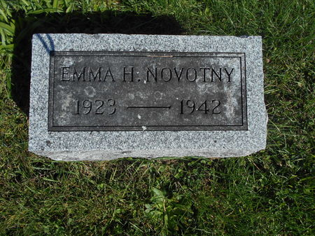NOVOTNY, EMMA H. - Linn County, Iowa | EMMA H. NOVOTNY