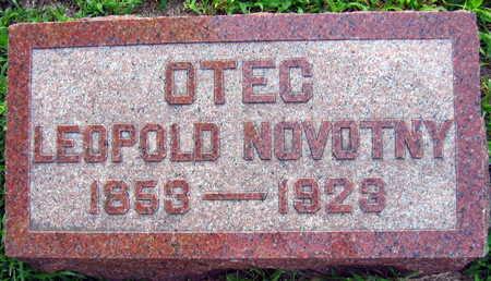 NOVOTNY, LEOPOLD - Linn County, Iowa | LEOPOLD NOVOTNY