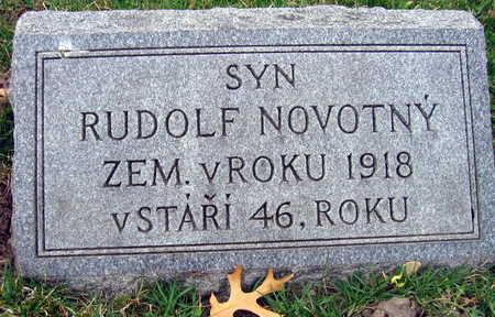 NOVOTNY, RUDOLF - Linn County, Iowa | RUDOLF NOVOTNY