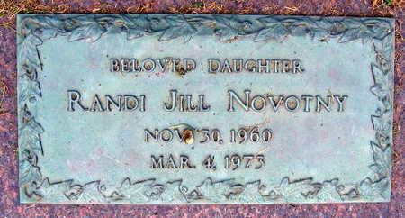NOVOTNY, RANDI JILL - Linn County, Iowa   RANDI JILL NOVOTNY