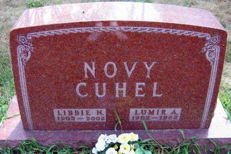 CUHEL NOVY, LIBBIE N. - Linn County, Iowa | LIBBIE N. CUHEL NOVY