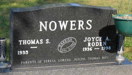 NOWERS, JOYCE A. - Linn County, Iowa | JOYCE A. NOWERS