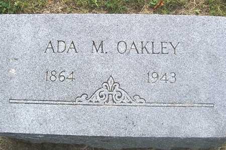 OAKLEY, ADA M. - Linn County, Iowa | ADA M. OAKLEY