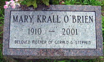 O'BRIEN, MARY - Linn County, Iowa | MARY O'BRIEN