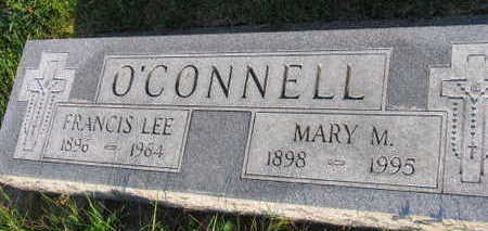 O'CONNELL, MARY M. - Linn County, Iowa   MARY M. O'CONNELL