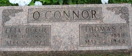 O'CONNOR, ETTA - Linn County, Iowa | ETTA O'CONNOR