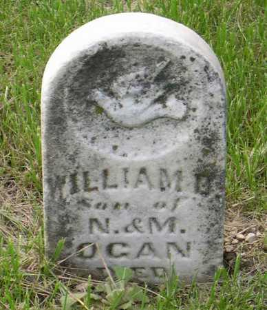 OGAN, WILLIAM D. - Linn County, Iowa   WILLIAM D. OGAN